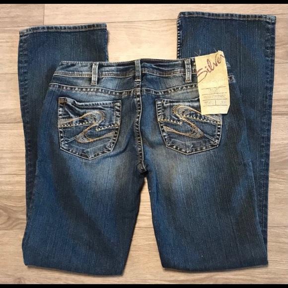 NWT Silver Toni jeans slim bootcut w31/L33